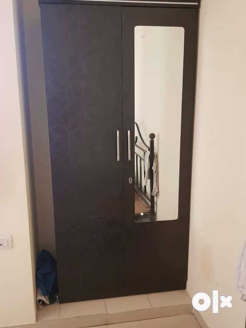 Wooden Wardrobe with keys