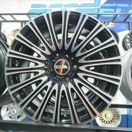 Velg Mobil Mercy ring 18 HSR bisa dicicil di toko Velg Mobil Aceh