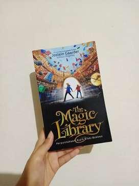 Jual buku novel The Magic Library (Jostein Gaarder & Klaus Hagerup)
