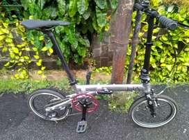 Sepeda Lipat Camp Hazy 3 Speed, 16 inch, Alloy