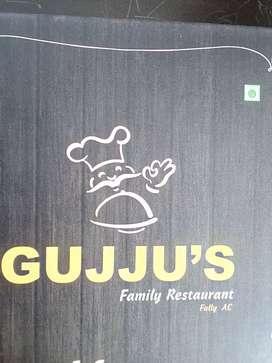 Experienced GUJARATI/PUNJABI cuisine cook required for a restaurant.