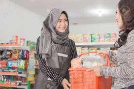 SPG / Sales Karyawati Toko Mesin Jahit