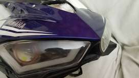 YAMAHA R3 HEADLIGHT CUPS COVER INTO R3 TO  R1 & R6