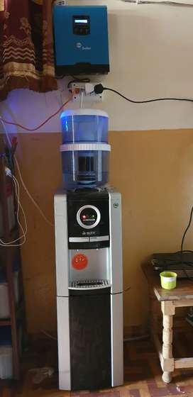 Water dispenser with fridge freezer for Sale