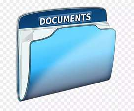 Urgent hiring for documents collection work