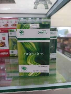 HIU Spirulina | Terapi Penyembuhan | Herbal Diabetes | Kapsul Spirulin