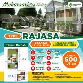 Rumah Mewah Murah Rajasa Mekarsari Eco living