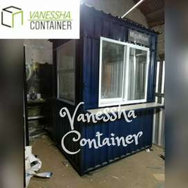 BOOTH SEMI CONTAINER / CONTAINER KEDAI KOPI / CONTAINER USAHA BOBA