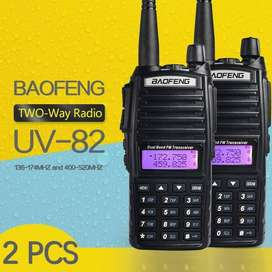 Pair (2 piece) of Baofeng UV-82 Dual Band UHF/VHF Radio