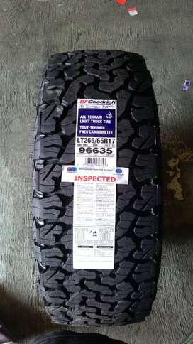 BFGoodrich AllTerrain T/A KO2 Size 265/65 R17 Ban Mobil Fortuner TRD
