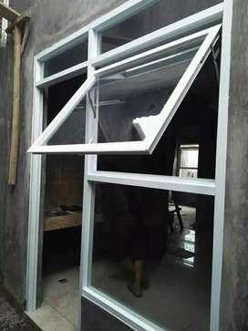 Mulya jaya, kusen aluminium pintu jendela $99