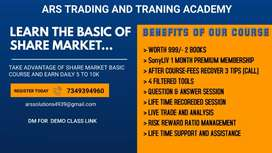 Basic of Share Market With  Technical & Strategical Analysis Course