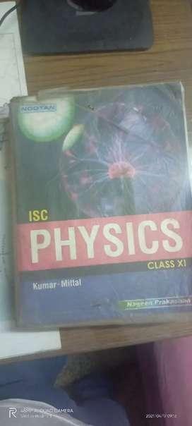 Physics isc 11th