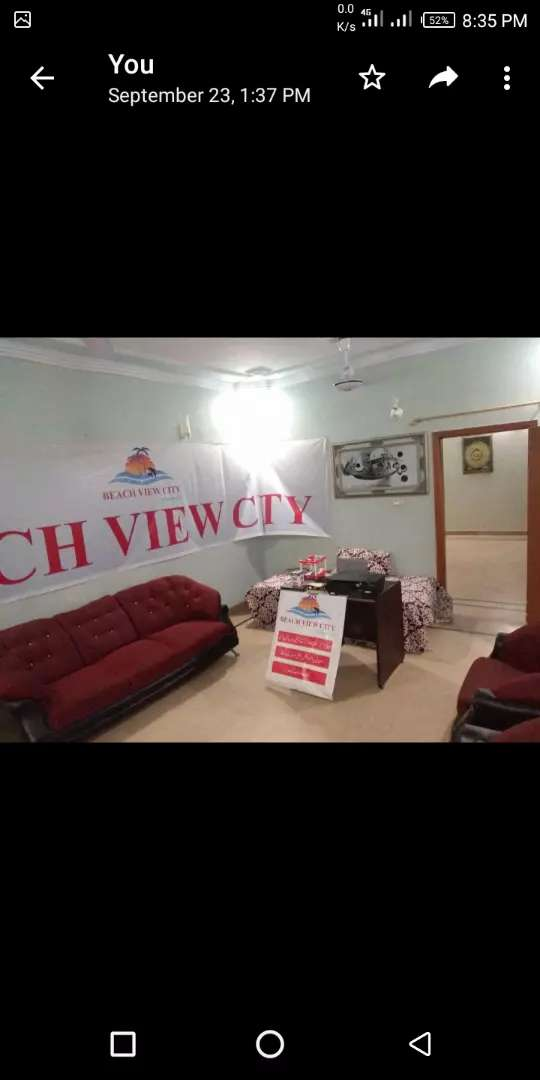 House for sale in Salfia socity West Open (water,Gas & Electricity) 0