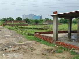 100 sq.Yard plot plot only 13000 per sq. Yard  near metro station 142.