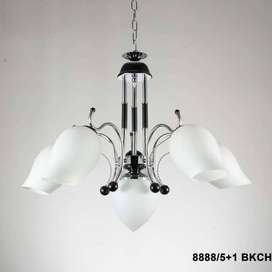 Lampu hias gantung minimalis dekorasi ruang tamu 15960/5+1 ID82