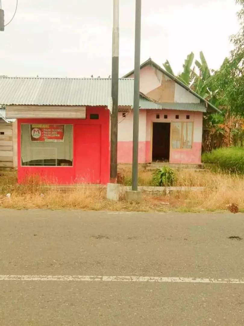 JUAL BU Tanah + Bangunan Rumah murah