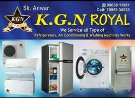 Ac & Refrigerator & Washing Machine services