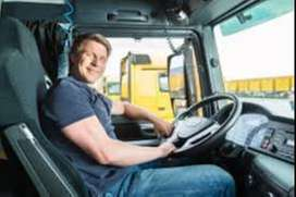 Required heavy driver for a national permit lorry