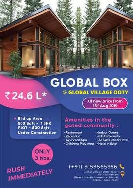Global Box House - European Pattern