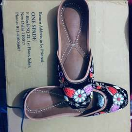 Patiyala pure leather jutti