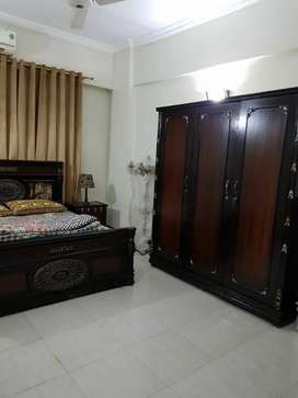 1 and 2 bed room appartment for rent in clifton block 2 fully furnishe