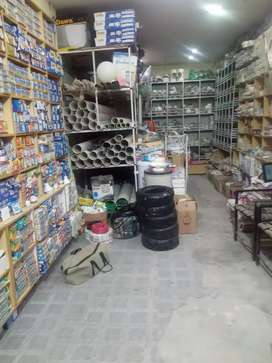 Sanitary & Electric shop for sale