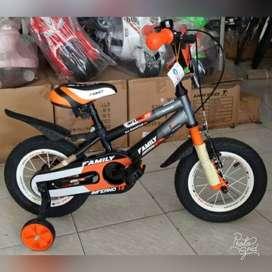 Sepeda BMX 12 inch Merk Family Inferno