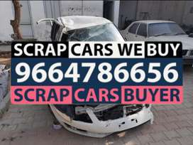 Vsys. Dead abandoned rusted scrap cars buyers