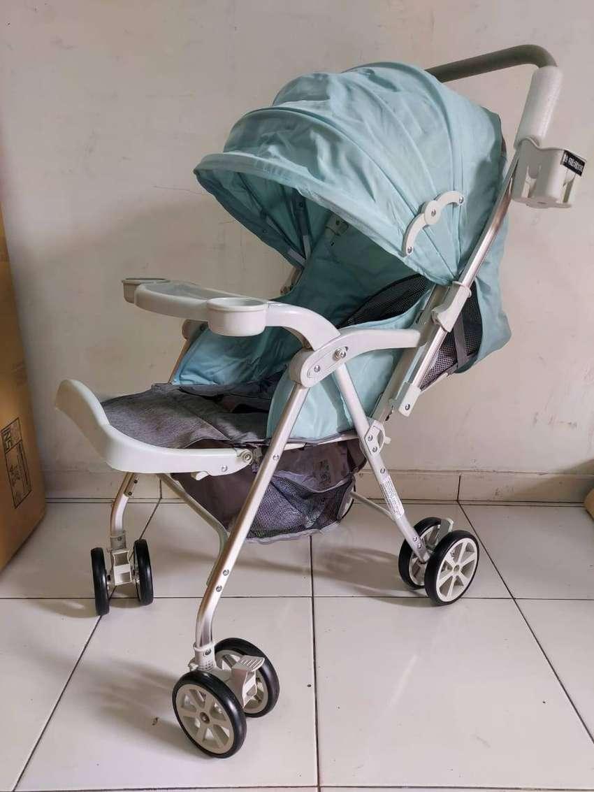 Aiqi Baby Stroller Original Kereta Dorong Anak Bayi Dorongan Stroler U