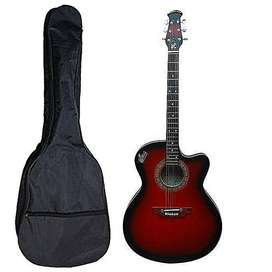 Signature Acoustic Semi-Electric Guitar -Red
