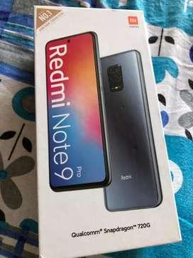 Seal Pack Redmi Note 9 Pro 6GB 128GB Aurora Blue