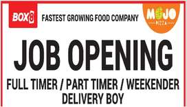 DELIVERY BOY REQUIRED IN WAKAD