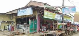 Over Kontrak bekas Toko Bahan Bangunan (Murah)