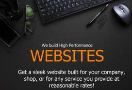 Get your very own website today!