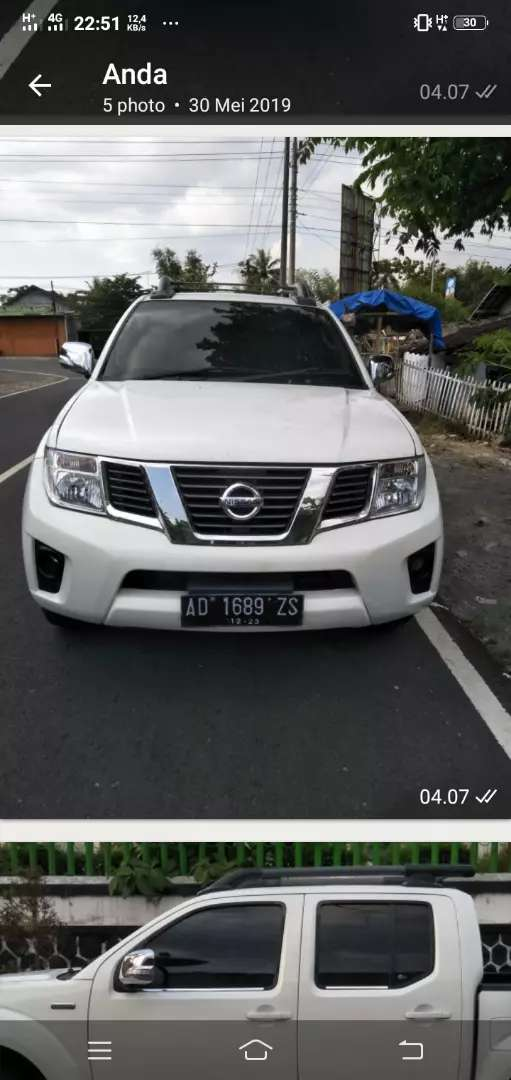 Jual Mobil Bekas Nissan Navara Sports Version Automatic 2012 0
