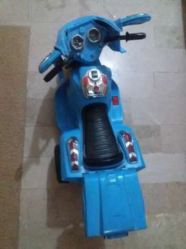 Chargable bike for age 2 to 7years kids