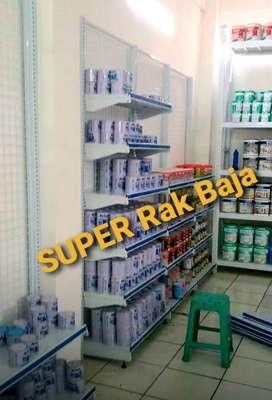 Rak gondola baja PREMIUM swalayan supermarket minimarket di Dumai