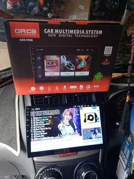 """Tv android 10"""" merek orca free pasang ditoko"""