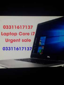 Beauty  Dell Laptop core i7 gaming PC . HP