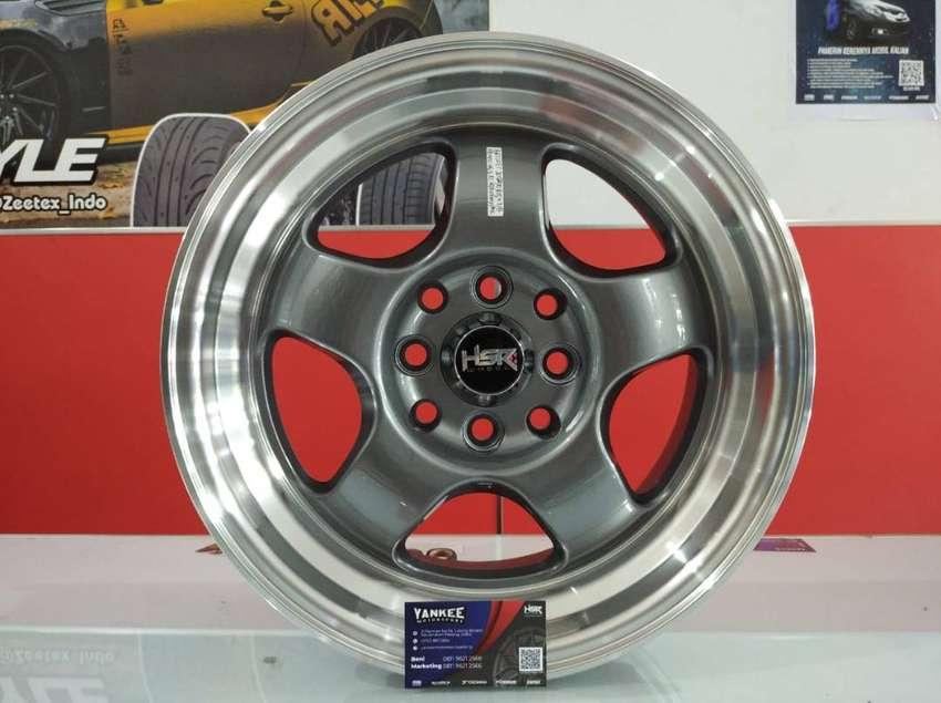 Velg Mobil Mitsubishi Lancer dll Ring 15 HSR TSUKUBA  bisa kredit 0