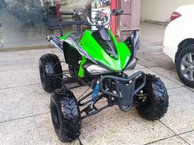 Green And Black Big Size 250cc ATV QUAD Deliver All Pakistan