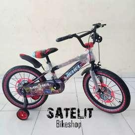 Sepeda Anak Cowok BMX Michel Ban 2.5 Ukuran 18 Inch