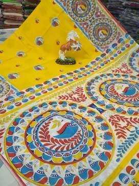 Jamdani,dhakai,cotton, handloom sareee