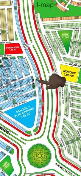 Bahria Town Karachi Precinct 11A , 200 sq yds brand new west open for