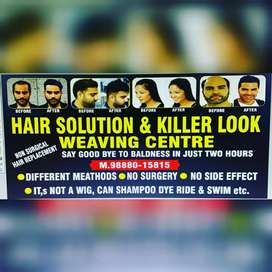 Non surgical hair  replacement  7000