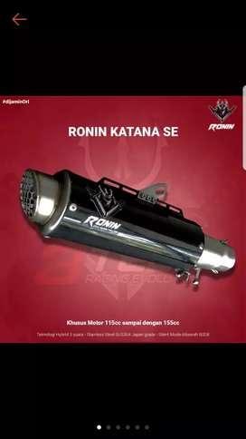 3tech Knalpot 3 Suara Ronin Katana SE (Vixion R)
