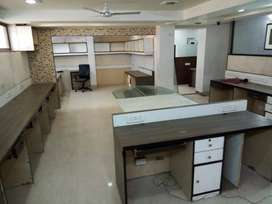 Furnished office spaces available for rent in Lalkothi Jaipur