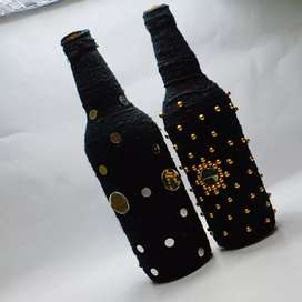 Decorated bottles starting from 150