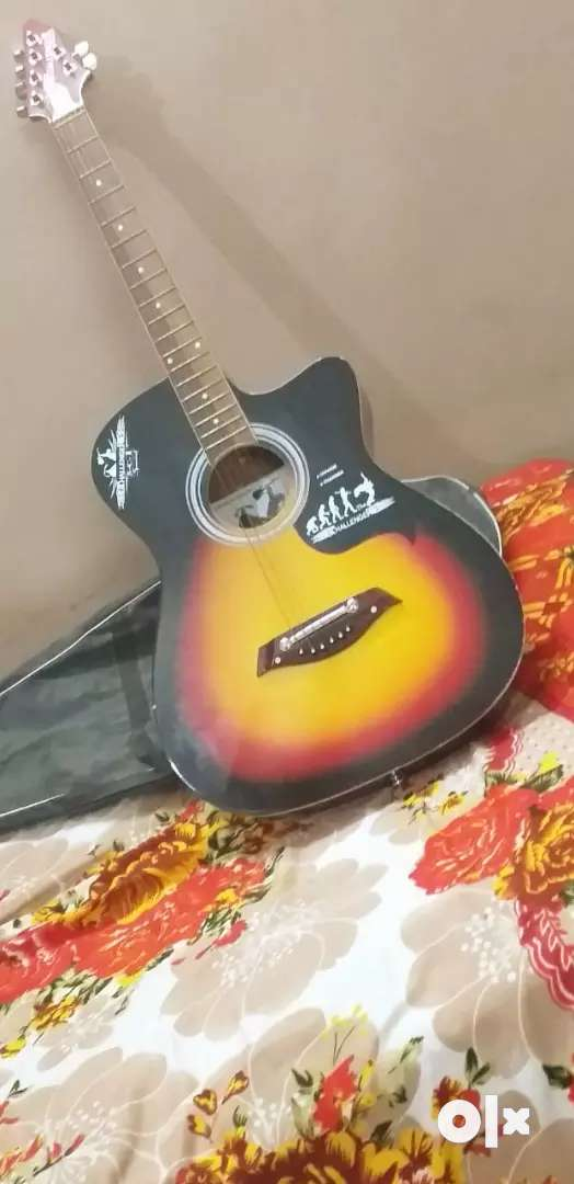 Guitar with fine condition, interested buyers only 0